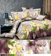 3D printing new design wholesale price indian printed polyester bedsheets