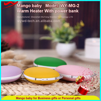 Mango baby rechargeable hand warmer power bank