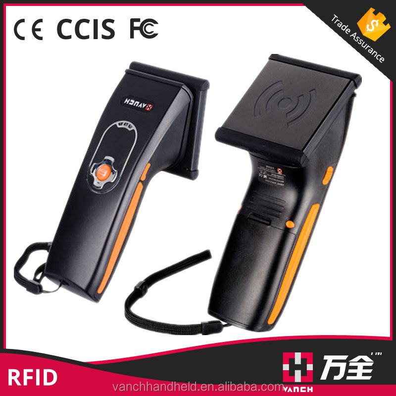 2 meter bluetooth handheld uhf rfid reader with android app