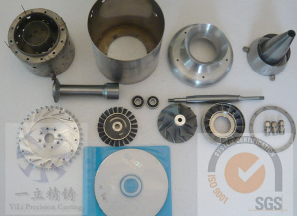 Parts for Jet turbine engine for sale