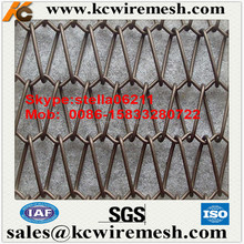 Factory!!!!! Kangchen Woven Wire Drapery/Metal cloth curtain/Stainless Steel Decorative wire mesh