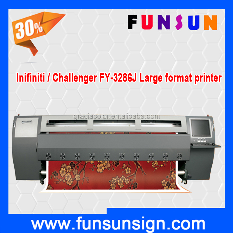 Hot selling pvc banner printer Infiniti / Challenger FY-3286J with 508GS heads