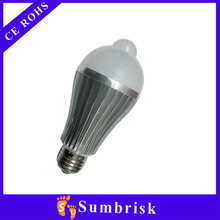 High Brightness led bulb 220v 50000hours lifetime, 2 years warranty, CE RoHS approved.