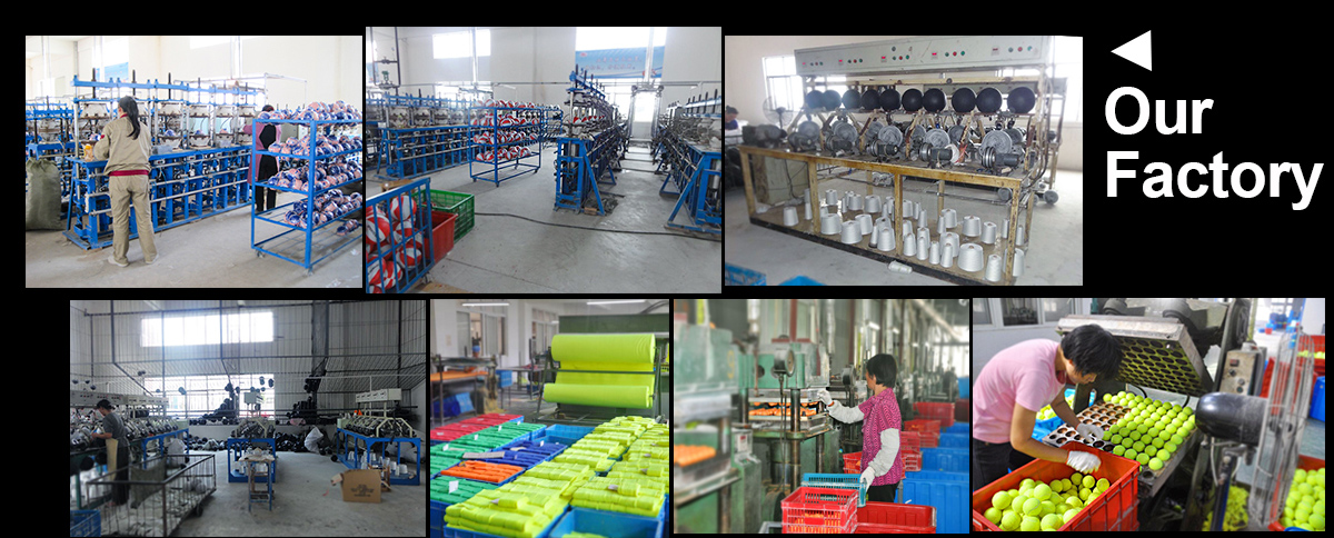 Different type hand sewed pvc soccer ball factory
