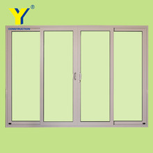 Australia standard commercial sliding glass reception door and window