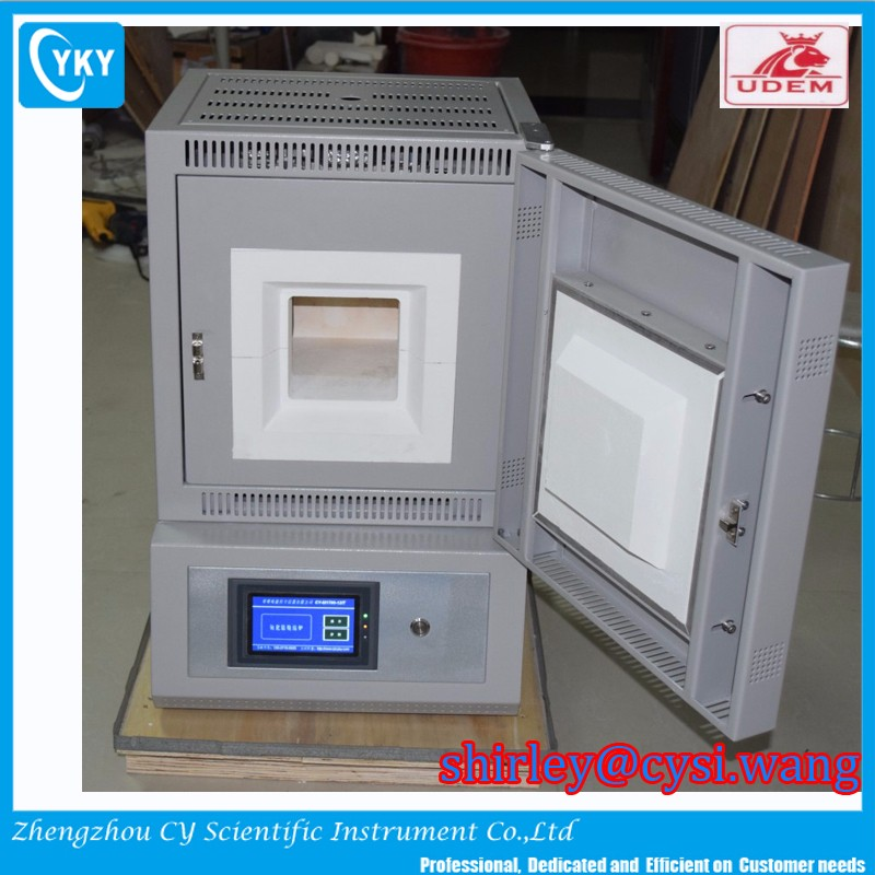 laboratory fire assay furnace pyrolysis box muffle furnace