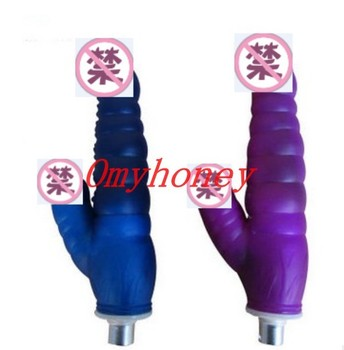 Omyhoney Double Vibrator Dildo (19*3cm) Using for Sex Machine Dongs for Machine Gun Sex Toys for Women Penis Sex