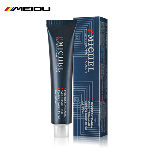 Privatel Label European Style Best Quality 60/80/100ML Aluminum Tube Professional Permanent Hair Color Cream For Men