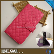 China Manufacturer wallet leather case for Samsung Galaxy Note 5 cell phone cover