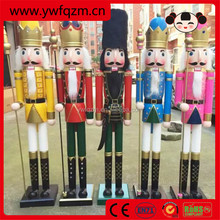120cm wooden life size christmas nutcracker