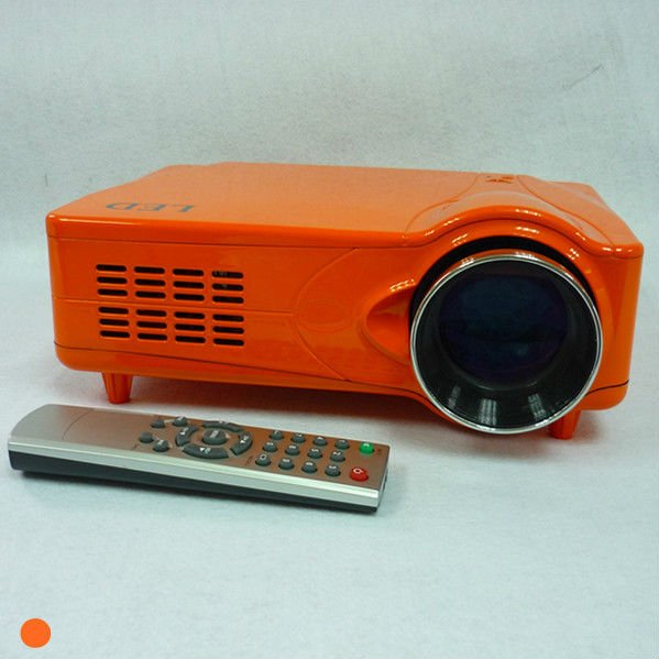 low cost home theater projector hd 1080p built in tv tuner, work with pc, laptop, wii, ps3 and etc