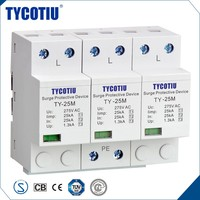 TYCOTIU China Product Type 2 Earthing And Lightning Protection Outdoor Surge Arresters Protector