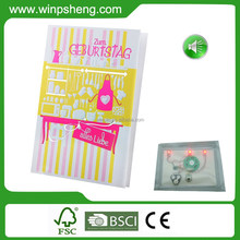 Costomzied Hd-c1 Full Color Led Display Birthday Greeting Card