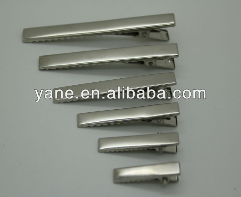 metal hair duck clip for hair accessories, alligator clips