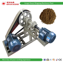 Cheap price automatic floating fish feed extruder machine / shrimps food pellet making machine