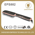 Negative air ionization therapy Digital hair brush iron 100-240V EPS882