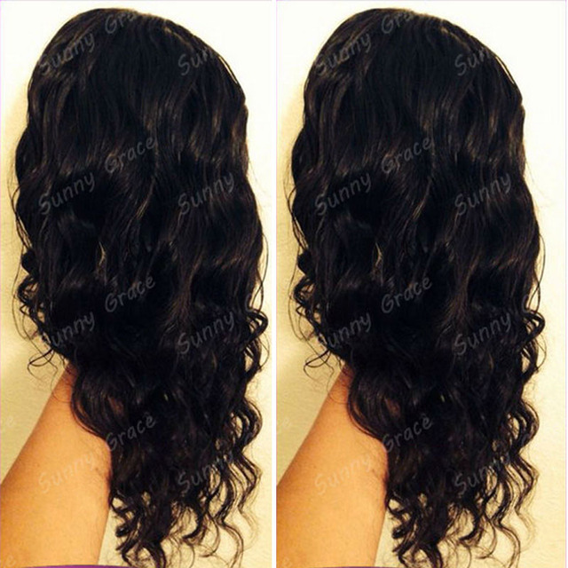 new beauty products 2014 cheap brazilian virgin hair natural ocean wave 100% human hair u part wig with side part in stock