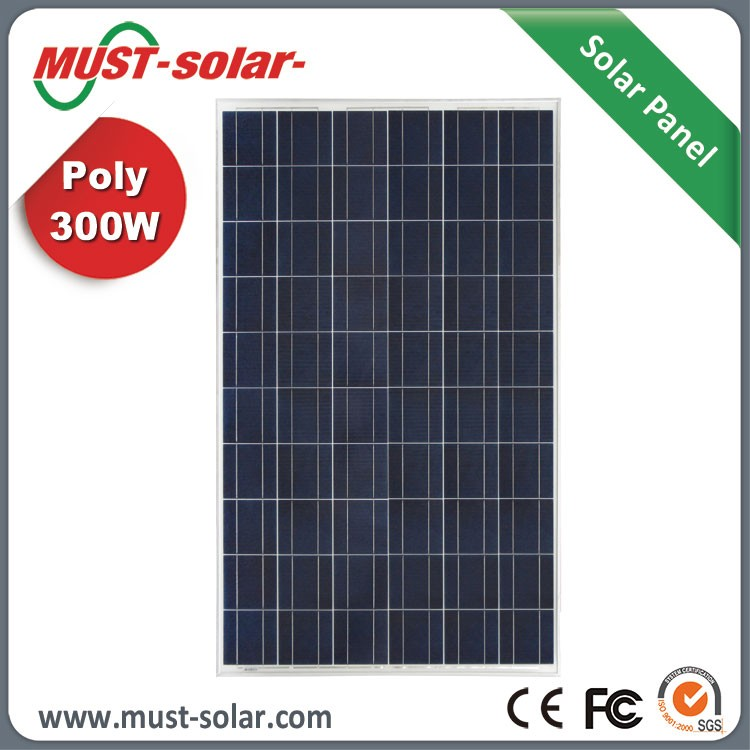 Factory Supplier Poly 300w Solar Panels with Built in Inverters