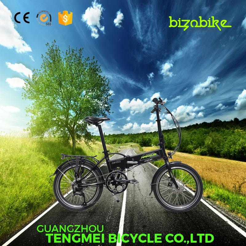 2016 china factory supply 20 inch electric bike folding