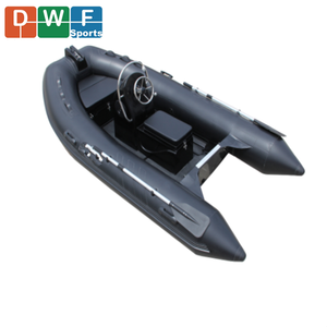 Cheap price RIB 240 inflatable fiberglass fishing rigid boat 2.4m small tenders for sale