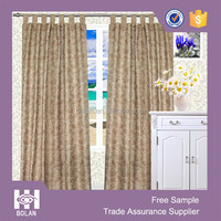 Made in china luxury embroidered hotel curtains and drapes with backing valance