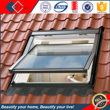 Remote Control Skyview Double glazed/Triple glazing glass top hinged roof skylight window price