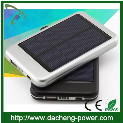 5000mAH cheap price colorful design solar charger for mobile phone