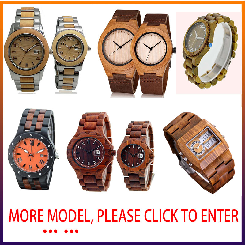 We made fashion design bamboo wood watch ,wholesale wood watch