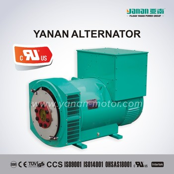 three phase brushless alternator generator