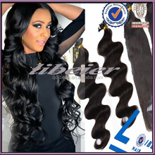 "pre tipped indian hair, Pre Bonded Flat Tip Indian Remy Human Hair Extensions20"" 100g"