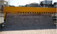 new premium tiger stone paving machine / brick paving machine