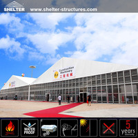 Large Outdoor Aluminum Frame Modular exhibition tent for Canton Fair by Guangzhou China Supplier