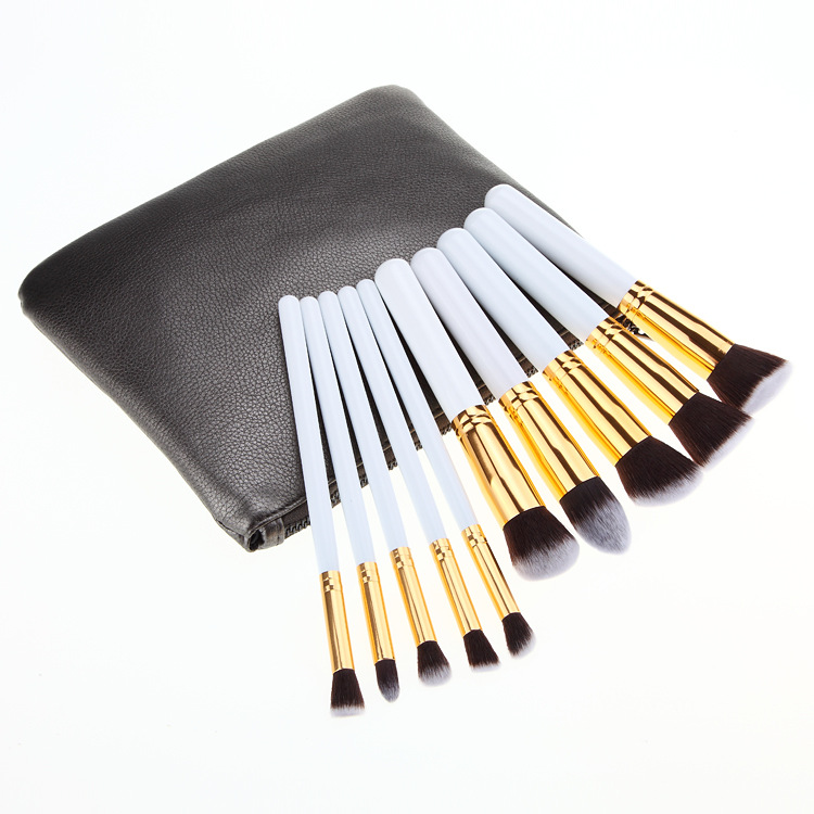 Makeup Brush 10pcs Set/Make Up Brush Kit with Private Label