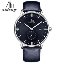 Hot Sell Brand Stylish Quartz Stainless Steel Back Watch for Mens