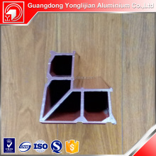Mill finish anodized Aluminum Alloy Window and Door Profiles for corner brakect