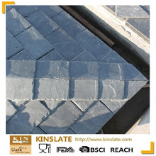 S-0301XZ new flat roofing materials natural black or dark gray roofing slate stone