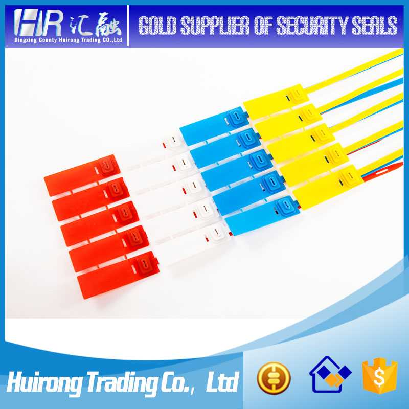 Logistic bag seal cable tie tag security lock plastic container seal