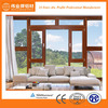 Heat insulation custom wood window aluminum extrusion profile