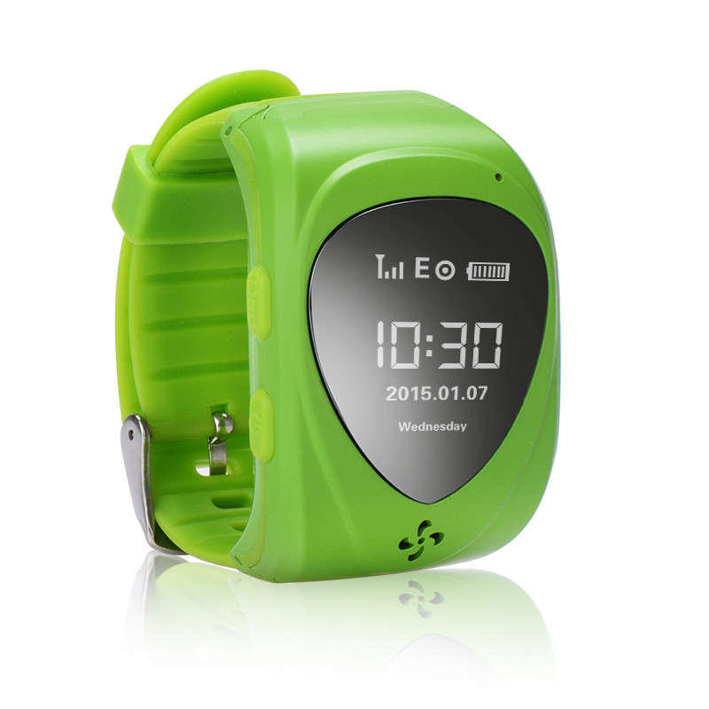 wholesale cheapest waterproof gps anti-lost mobile watch phone jm09