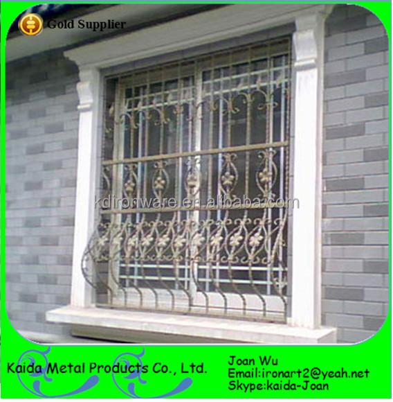 Wrought Iron Window Grills Design/ Steel Outdoor Window