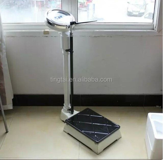 120kg/150kg Mechanical adult weighing machine/height weight scale