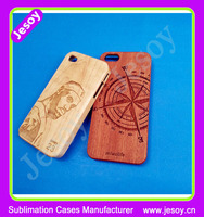 JESOY Natural Carved Custom Wooden Hard Phone Cover Cases Protect For iPhone 4 4s 5 5S 6 6s 6sPlus