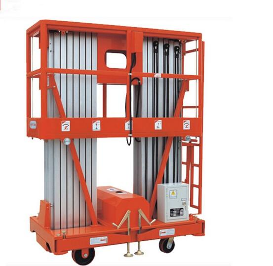 Good price hydraulic aerial adjustable height elevated work platform