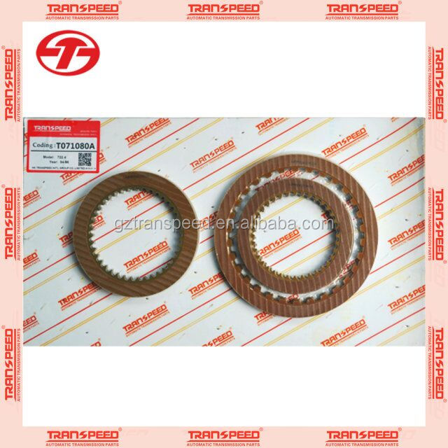 Transpeed 722.4 automatic transmission friction kit clutches kit repair kit for Mercedes