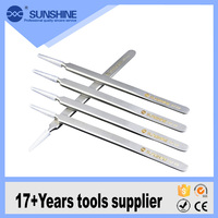 Smart ST-14 metal ultra esd precision stainless steel tweezers