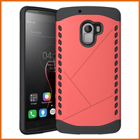 Combo tpu pc bumper flip cover case for lenovo k4 note