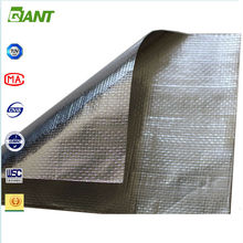 Hot Sales Factory Supplied double sided reflective aluminum foil insulation, foil faced mineral wool insulation