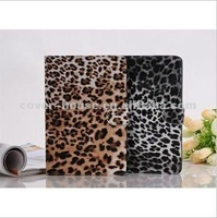 Leopard Case for Mini iPad Leather Cases Cover PU Pouch for iPad Mini