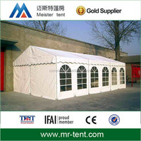 Outdoor cold weather tents for events