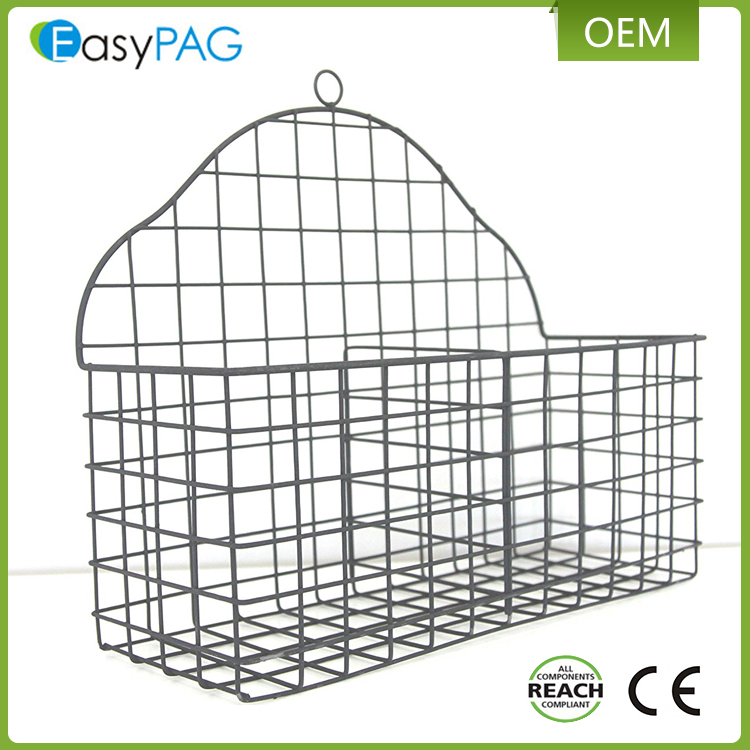 EasyPAG 17.1 x 13.7 x 6.3 inches multifunctional hanging wire kitchen vegetables or fruit storage rack